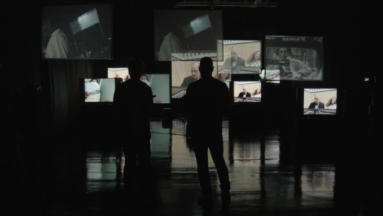 NYman With A Movie Camera (c) Michael Nyman